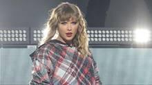 Taylor Swift auf der Bühne