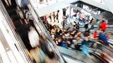 Platz 12: Menschenandrang  Einkaufen im Schwarm ist nicht jedermanns Sache, lässt sich zur Weihnachtszeit aber häufig nicht verhindern.