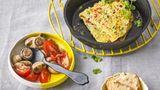 Köstliches Omelett