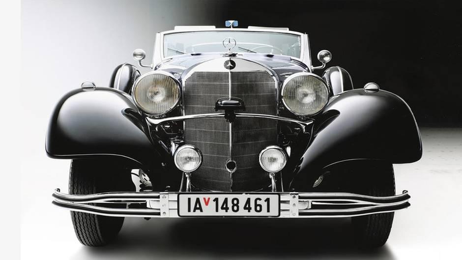 Oldtimer-Limousine: Mercedes-Benz Typ 770: Hitlers Hauptparadewagen wird versteigert