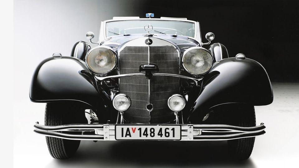 Oldtimer : Mercedes-Benz 770K - Hitler war ein Autonarr und das war sein Parade-Mercedes