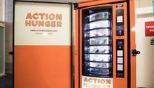 Erster Automat für Obdachlose in Nottingham