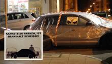 """Persönliche Abstrafung in Stuttgart: """"Kannste so parken, ist dann halt scheiße"""""""