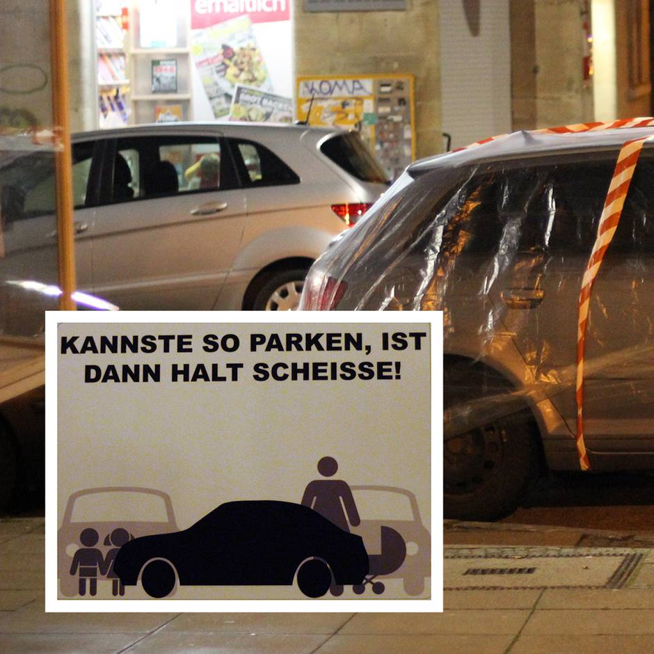 Abschleppen Wut In Stuttgart Kannste So Parken Ist Dann