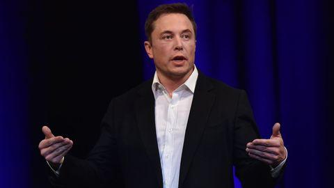 Die milliardenschwere Unternehmer Elon Musk