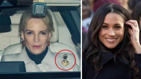 Princess Michael of Kent und Meghan Markle