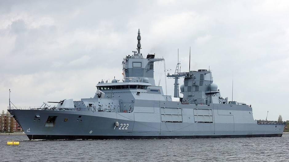 """Die """"Baden-Württemberg"""" ist das erste Schiffs des Typs F150."""