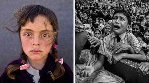 """""""UNICEF-Foto des Jahres 2017"""": Krieg, Flucht und Verzweiflung: Diese Bilder haben 2017 geprägt und bewegt"""