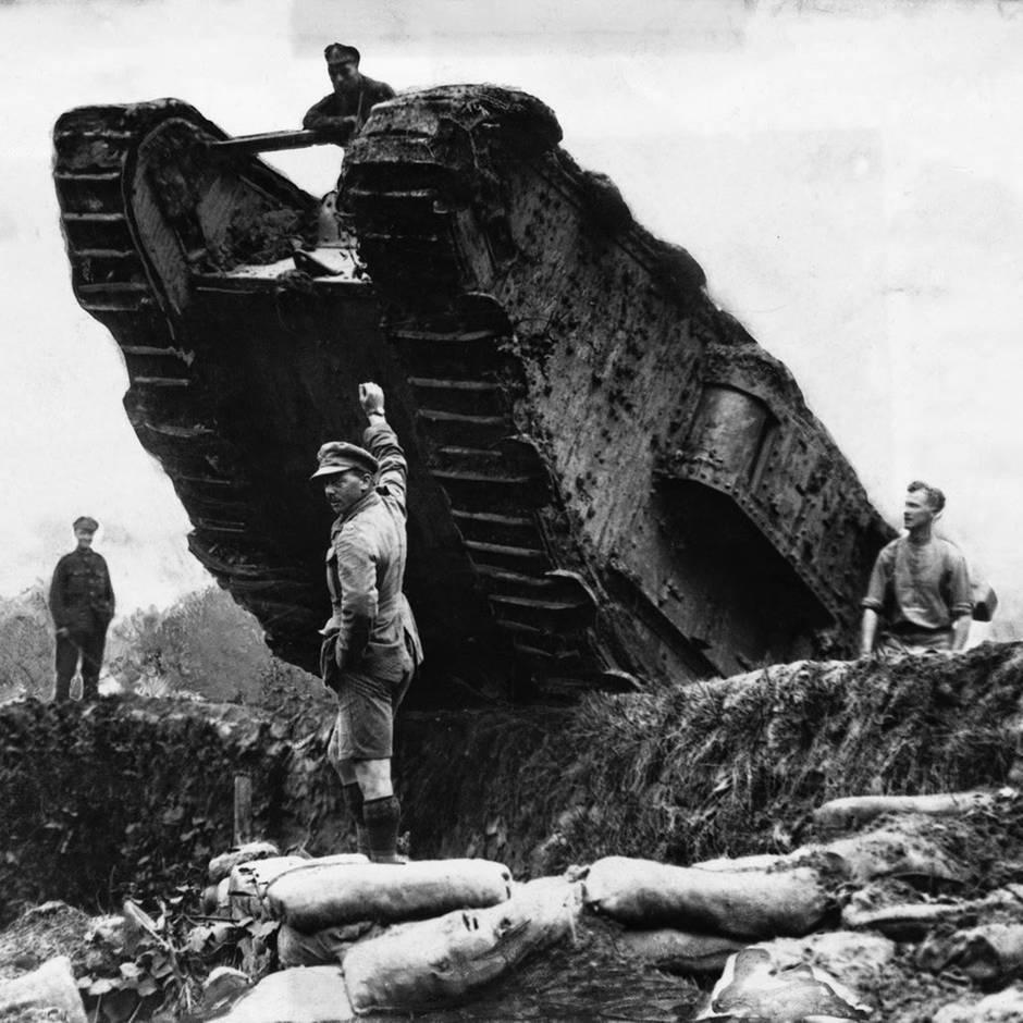 Erster Weltkrieg: Nur in der Propaganda war der erste Panzerangriff ein Riesen-Erfolg