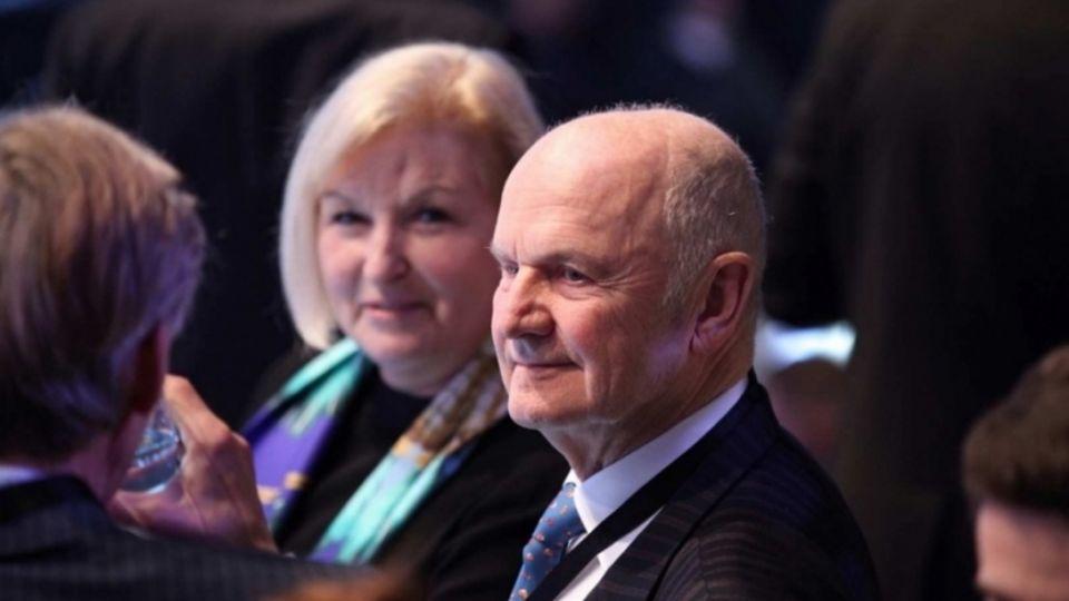 Eine Ära ging zu Ende. Ferdinand Piëch mit Ehefrau Ursula