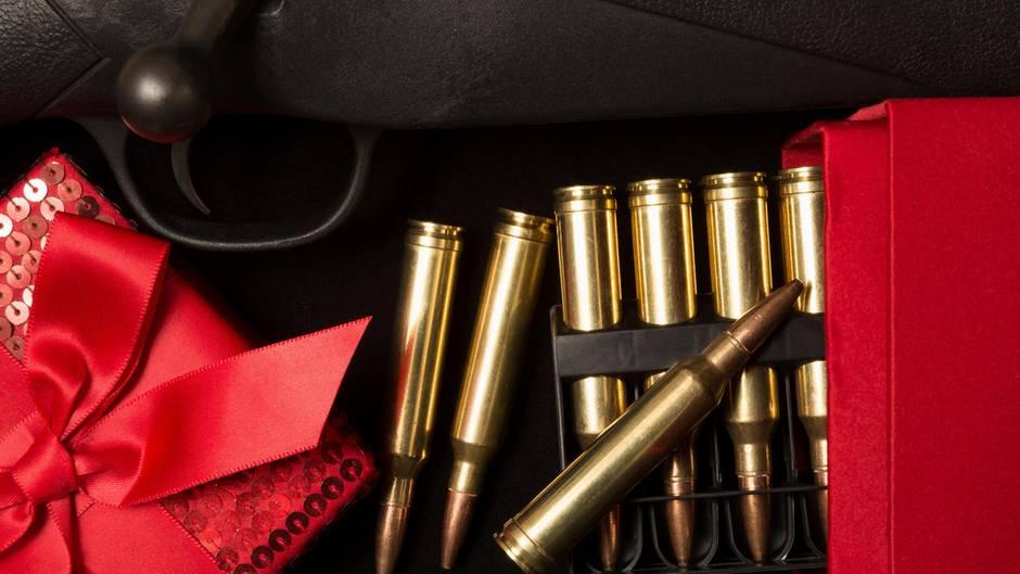 USA: Waffen werden zu Weihnachten häufig verschenkt | STERN.de