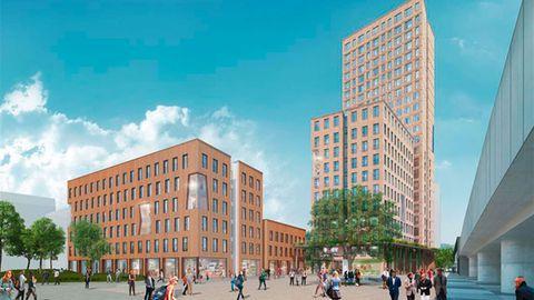 So soll das HoHo Wien nach der Fertigstellung aussehen