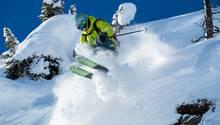 So wie auf dem Bild fahren die wenigsten, doch so wird getestet, um die Fähigkeiten des Ski zu ermitteln.