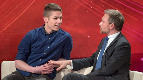 Interview mit Alexander Jorde nach Sendung mit Christian Lindner
