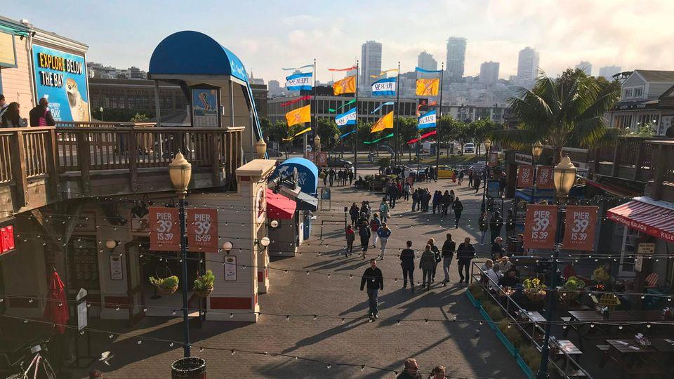 Am berühmten Pier 39: FBI verhindert verheerenden Terroranschlag in San Francisco
