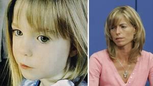 Maddie McCann und ihre Mutter Kate (Archivbilder)