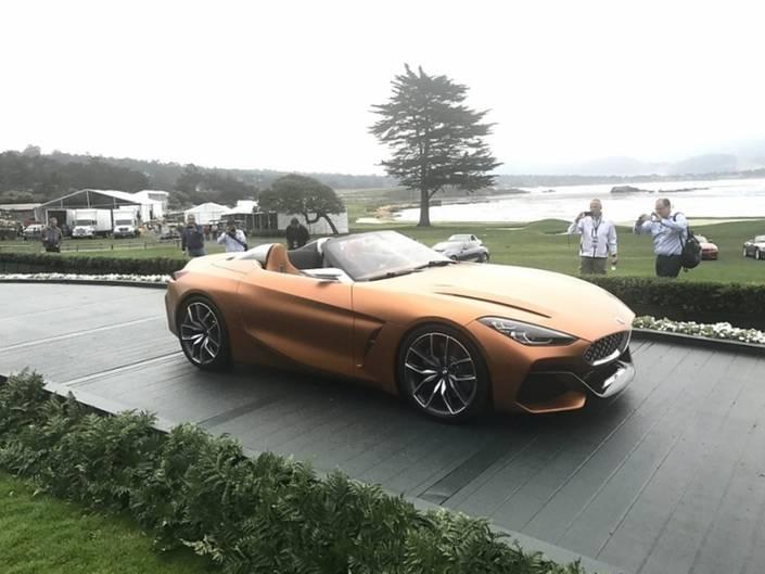 BMW zeigte mit der Vision Z4 eine Vorschau auf den Roadster