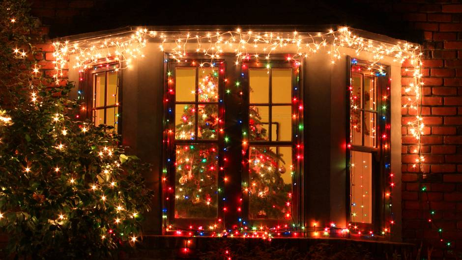 Weihnachtsbeleuchtung in den USA