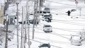 Erie Pennsylvania Schnee