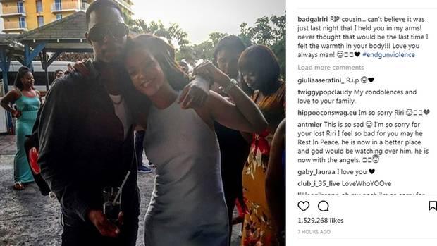 Rihanna und ihr Cousin Tavon