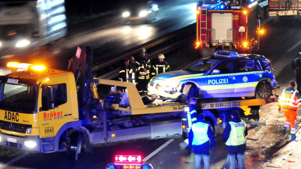 Nachrichten aus Deutschland: Unfall auf der A61