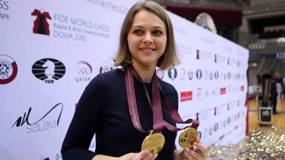 Anna Musytschuk Saudi-Arabien