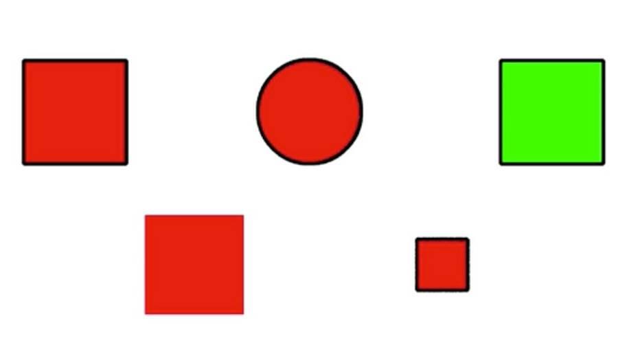Knobeln für Profis: Dieses Rätsel lösen nur Genies: Welche Form passt nicht ins Schema?