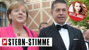 Verkanntes Traumpaar: Angela Merkel und Joachim Sauer.