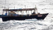 Nordkorea Boot in Japan