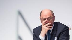 SPD-Politiker Martin Schulz beim Bundesparteitag in Berlin