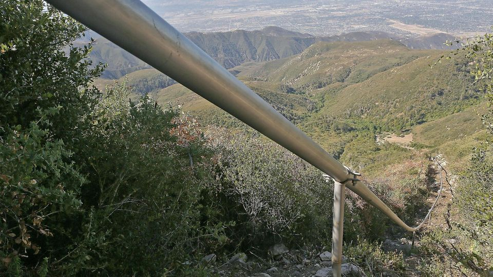 San Bernadino Forest Pipeline