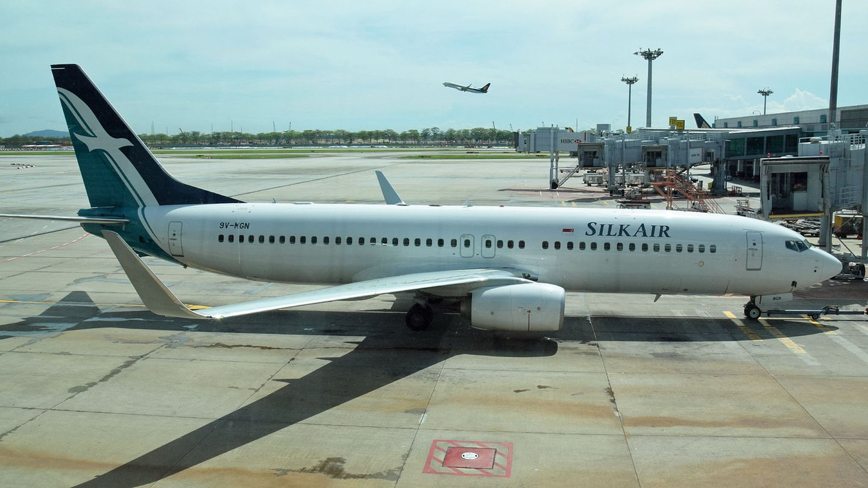 Boeing 737 von Silk Air