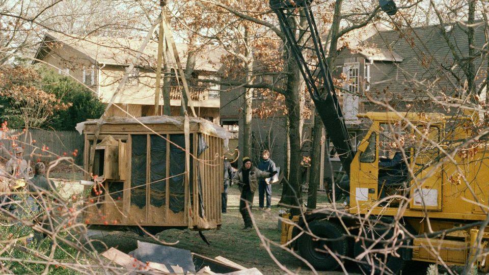 Der Bunker, in dem John Esposito Katie Beers festhielt.