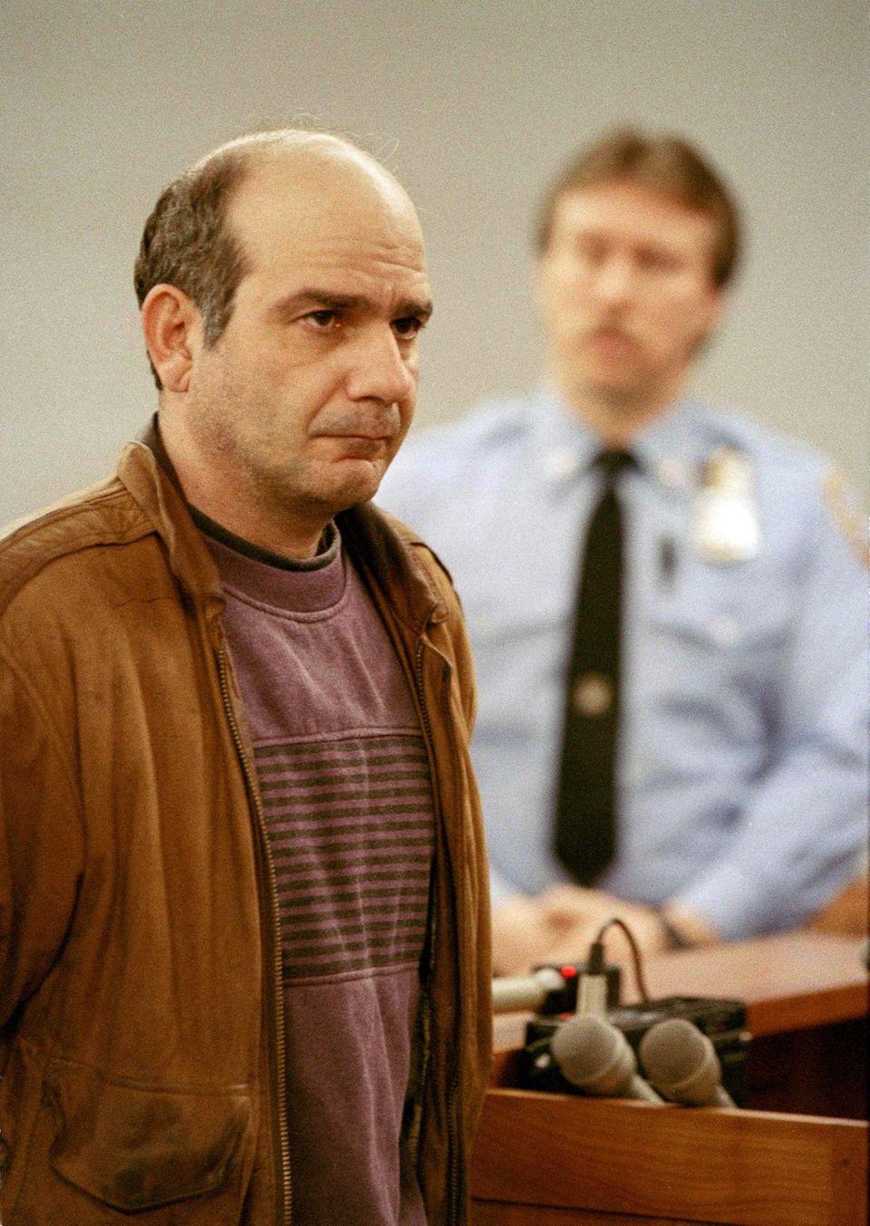 John Esposito, Katie Beers Entführer bei seiner Verhandlung