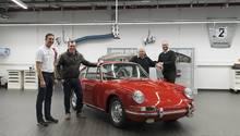 Porsche 901 Nr. 57 - nach der Restauration
