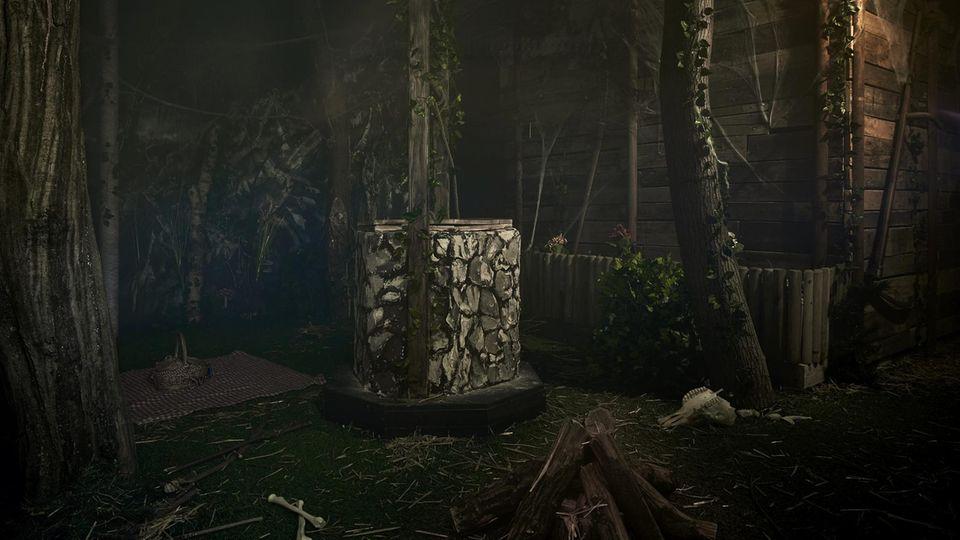 """Der """"Cabin in the Woods""""-Raum von """"TeamBreakout"""""""