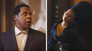 Jay-Z mit Beyoncé