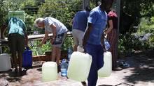 Kapstadt Dürre