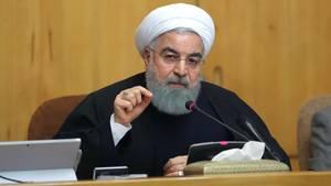 Irans Präsident Hassan Ruhani sieht sich seit Tagen mit Protesten gegen sein Regime konfrontiert