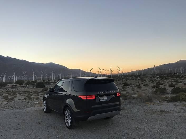 Land Rover Discovery 3.0 Si V6 - unterwegs in den seichten Wüsten rund um Palm Springs