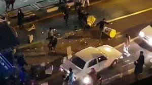 Unruhen in Teheran - Videostill der Agentur Mehr News