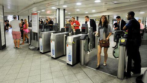 Eingang Londoner U-Bahn