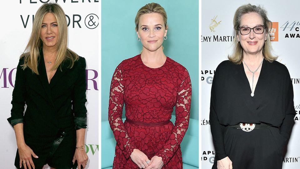 Jennifer Aniston, Reese Witherspoon, Meryl Streep