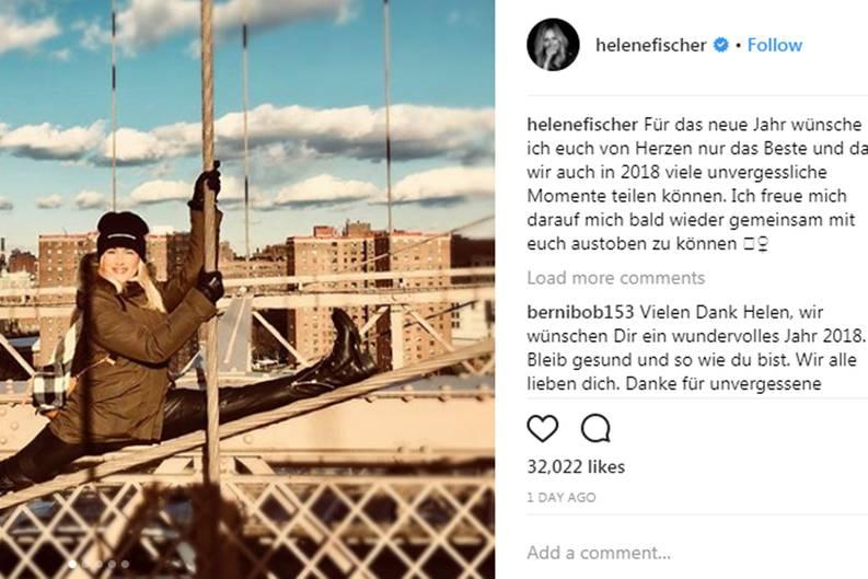 Helene Fischer bis Mark Wahlberg: So verbrachten die Stars den ...