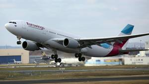 Airbus A330-200 von Eurowings