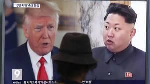 """Donald Trump kontert Kim Jong Un: Ich habe einen """"viel größeren"""", als du!"""