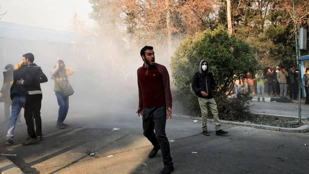 Proteste im Iran: USA für Dringlichkeitssitzung des Sicherheitsrats