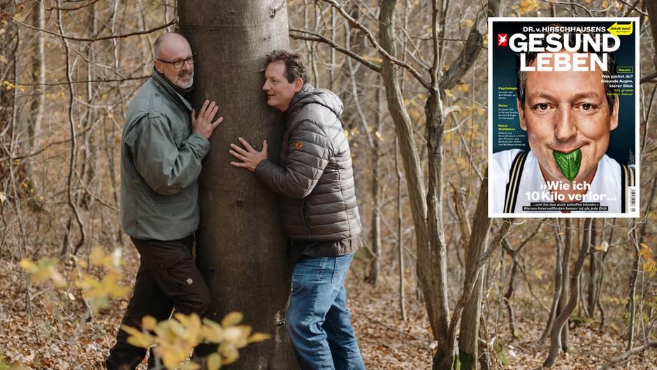 """DR. v. HIRSCHHAUSENS STERN GESUND LEBEN: """"Geht raus in die Natur"""" - Hirschhausen trifft Deutschlands berühmtesten Förster"""