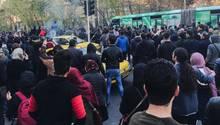 Unruhen in Teheran - Pressestimmen zu den Demonstrationen im Iran
