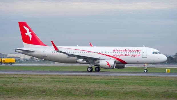 Platz 10: Air Arabia  Bei dieser bereits 2003 in Sharjah gegründeten Airline handelt es sich um die erste Billigfluggesellschaft im Nahen Osten. Mit der Flotte, die aus modernen Airbus A320 besteht, werden mehr als 50 Ziele angeflogen, darunter auch Flughäfen in Deutschland mit Verbindungen nach Marokko.